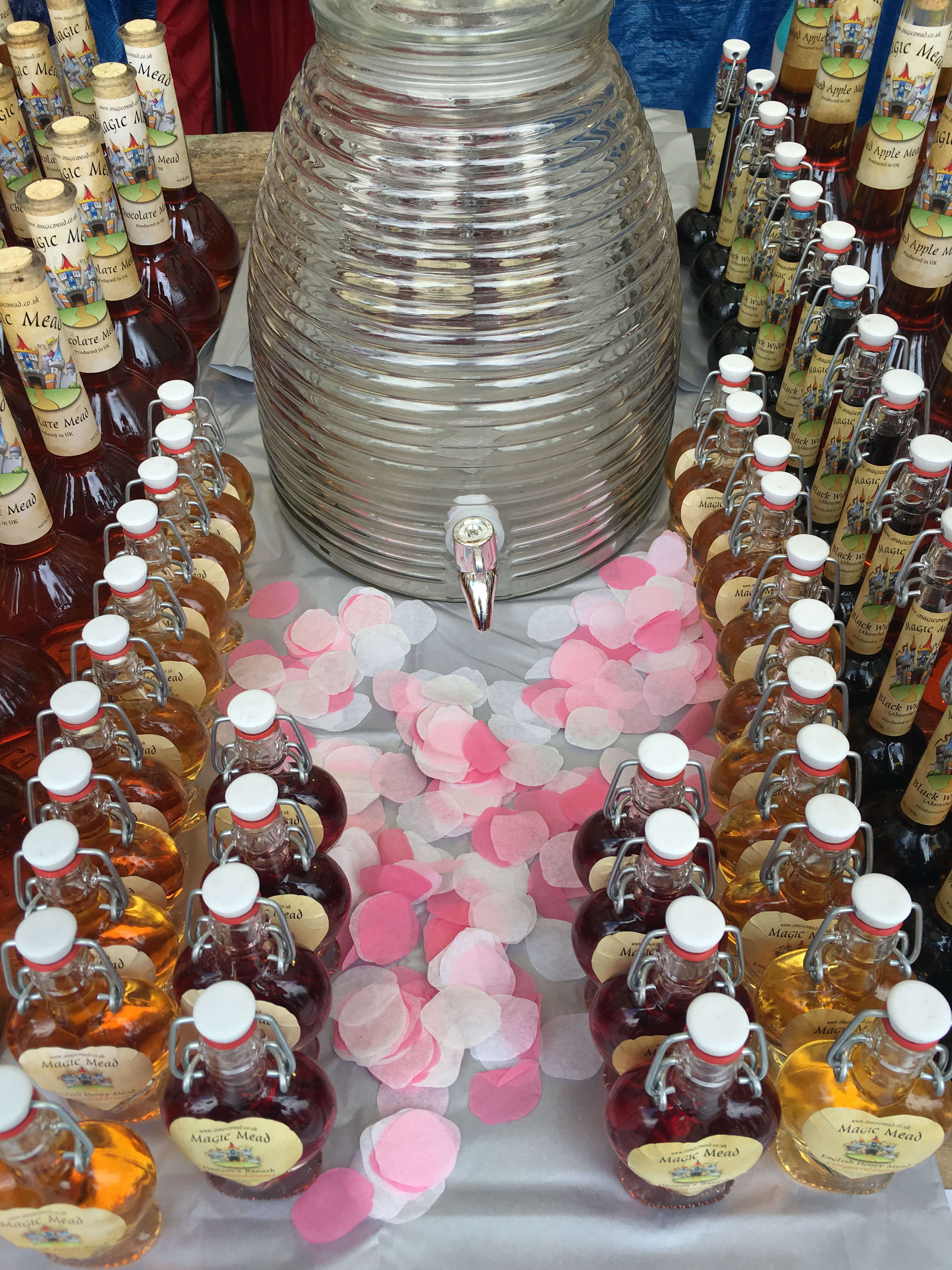 Traditional Honey Mead for Weddings