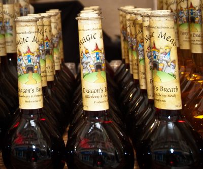Magic Mead Wine Bottles