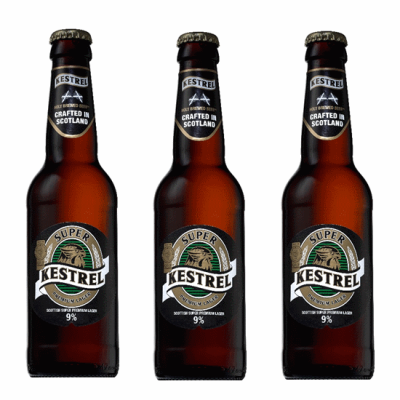 3 Bottles of kestrel super