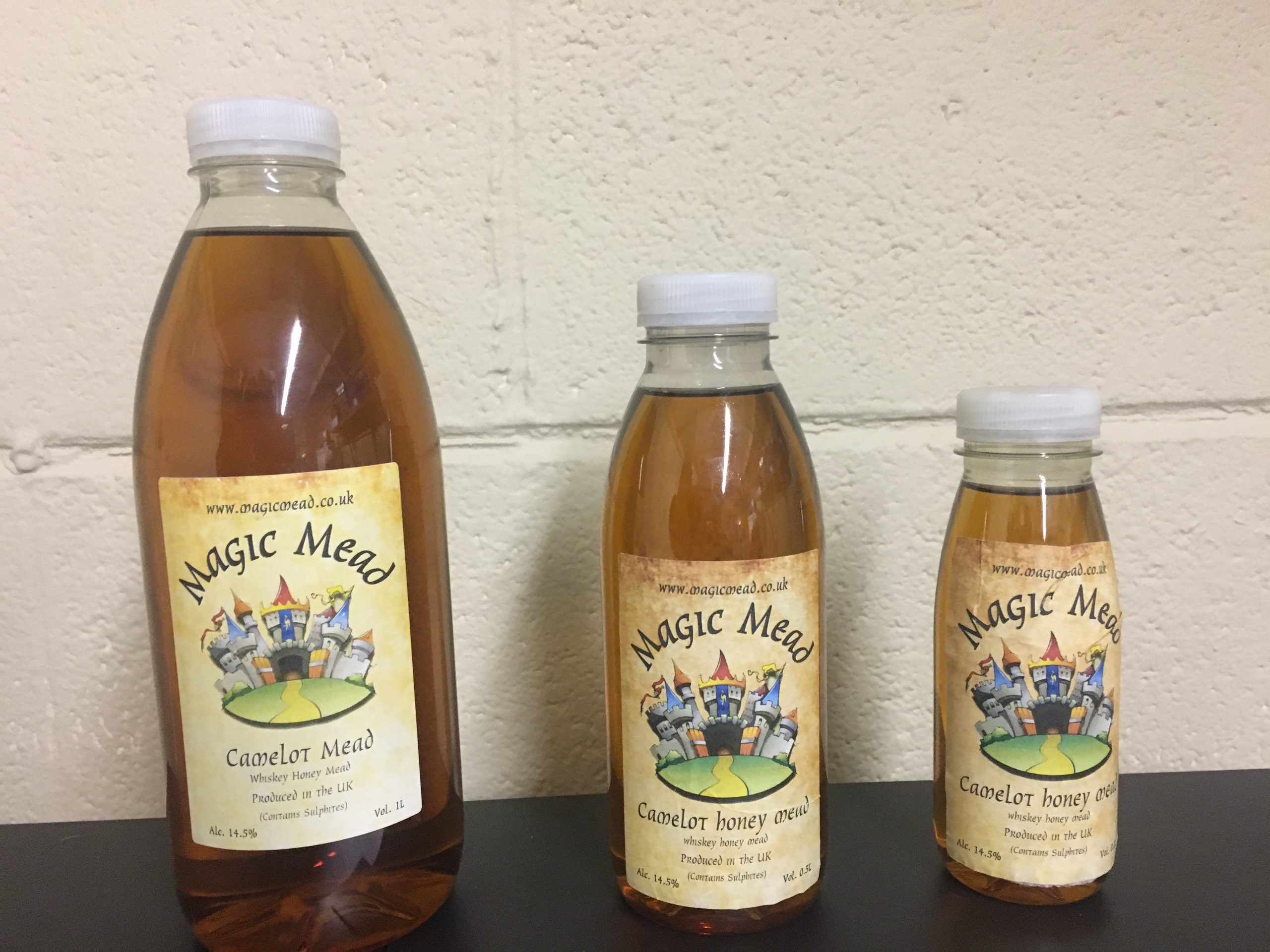 Whiskey Honey Mead - (Camelot Honey Mead)